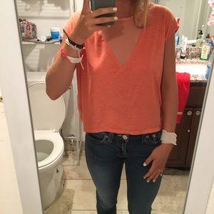 Orange Chloe K top.